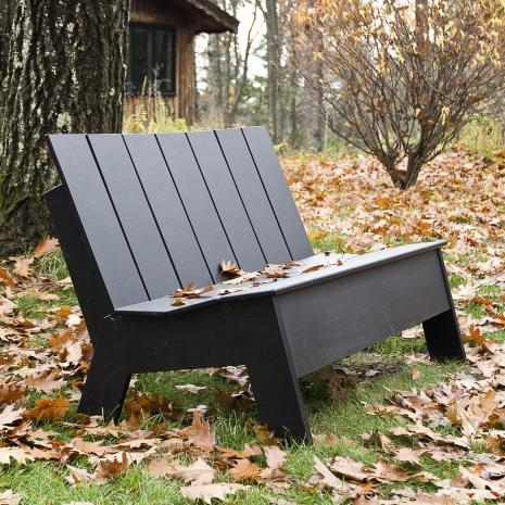 Loll Design - Picket Low Back Double Seater