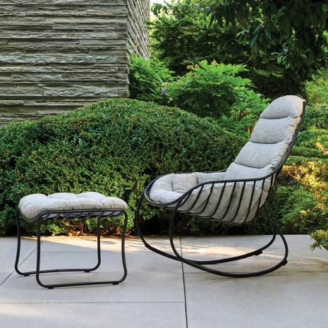 Royal Botania - Folia Rocking Chair