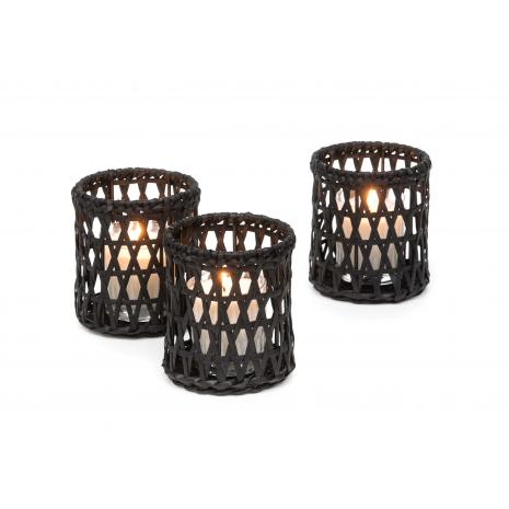 Gommaire - T-light holder Lati incl. scented candle